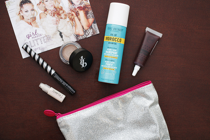 """Girl meets glitter"" 