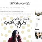 Entrevista Golden Strokes Blogger Mexicana
