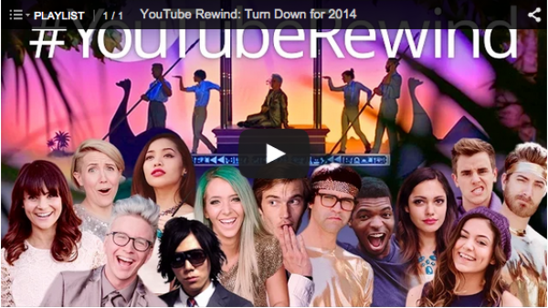 YouTube Rewind: Turn Down for 2014