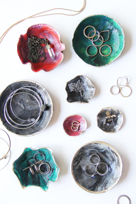 Marble ring dish DIY