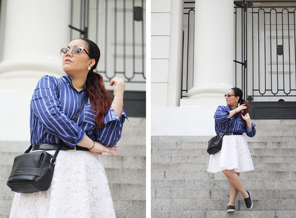 stripes-shirt-yoins-blogger-mexicana-lace-skirt-sneakers-prune-crossbody-princess-cat-eye-button-up-golden-strokes