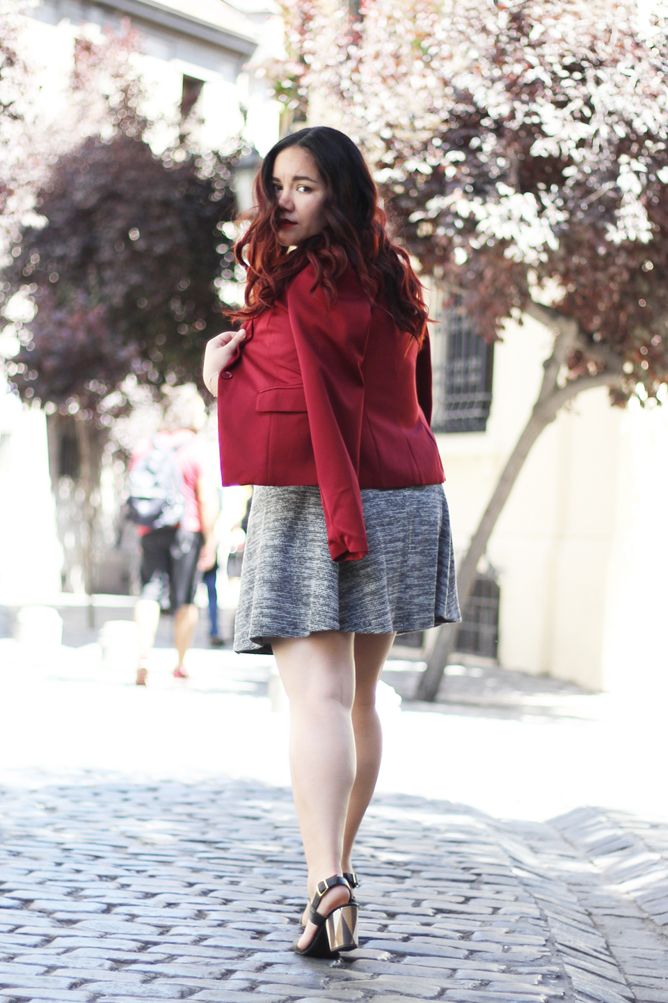 christmas-look-merry-holidays-h&m-dafiti-chile-street-style-summer-blazer-red