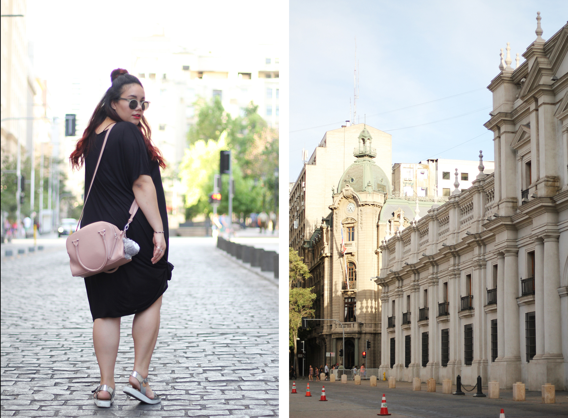 comfy-look-oversized-dress-dafiti-chile-forever-21-mexican-blogger-hm-half-bun-street-style-easy-going-outfit