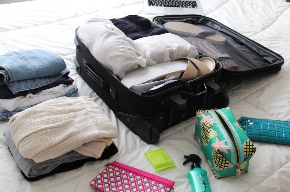 Maletas empacar como no sobre empacar how to pack 15 day vacations Travel light Handbag traveler