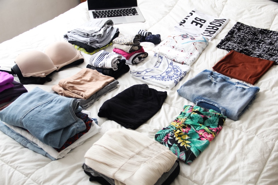 Maletas empacar como no sobre empacar how to pack 15 day vacations Travel light Handbag traveler Outfits