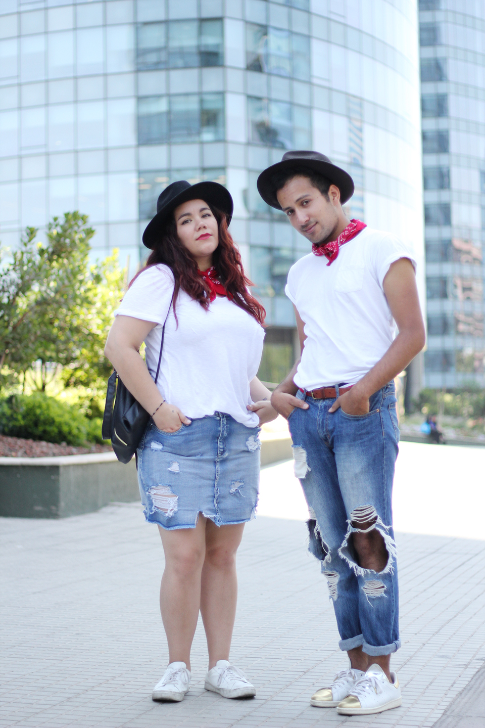 Outfit match – steal his style ft. Doble check