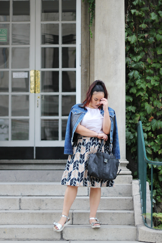 Moda sustentable: Un look con ropa usada #BloggersChile
