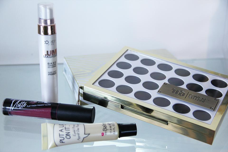 Urban Dacay Gwen Stefani Eyeshadow Palette - Nude Makeup tutorial