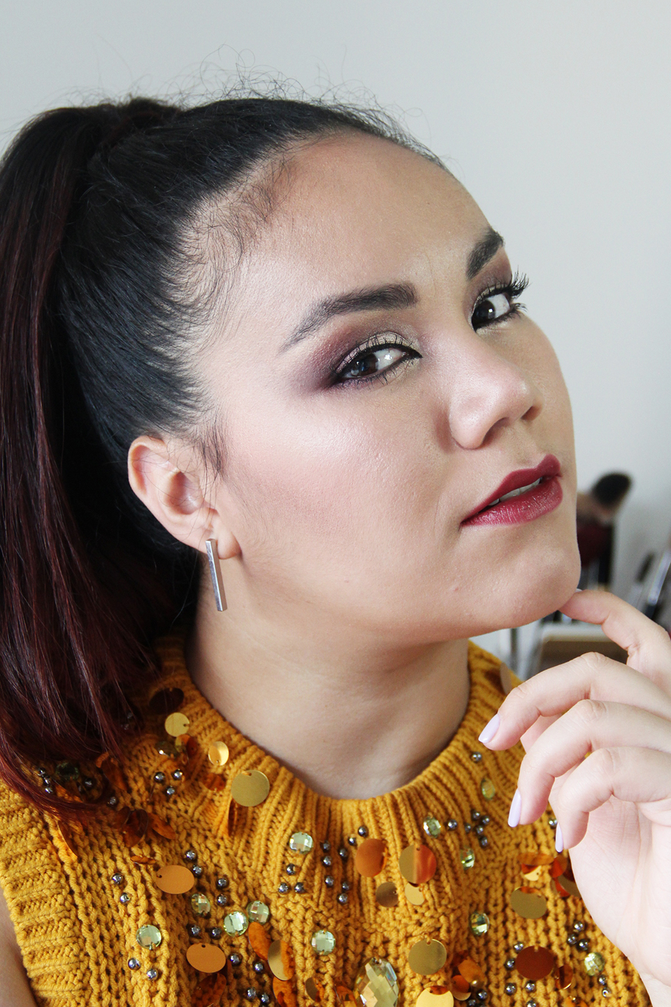 Sultry Makeup Look