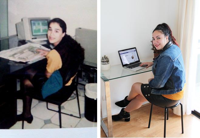 Vistiendo tendencias que usó mi mamá en los 90's - Bloggers Chile