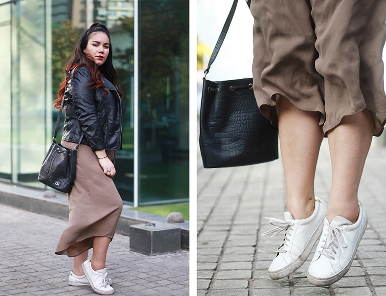 Stylishing – 5 looks to try with white sneakers
