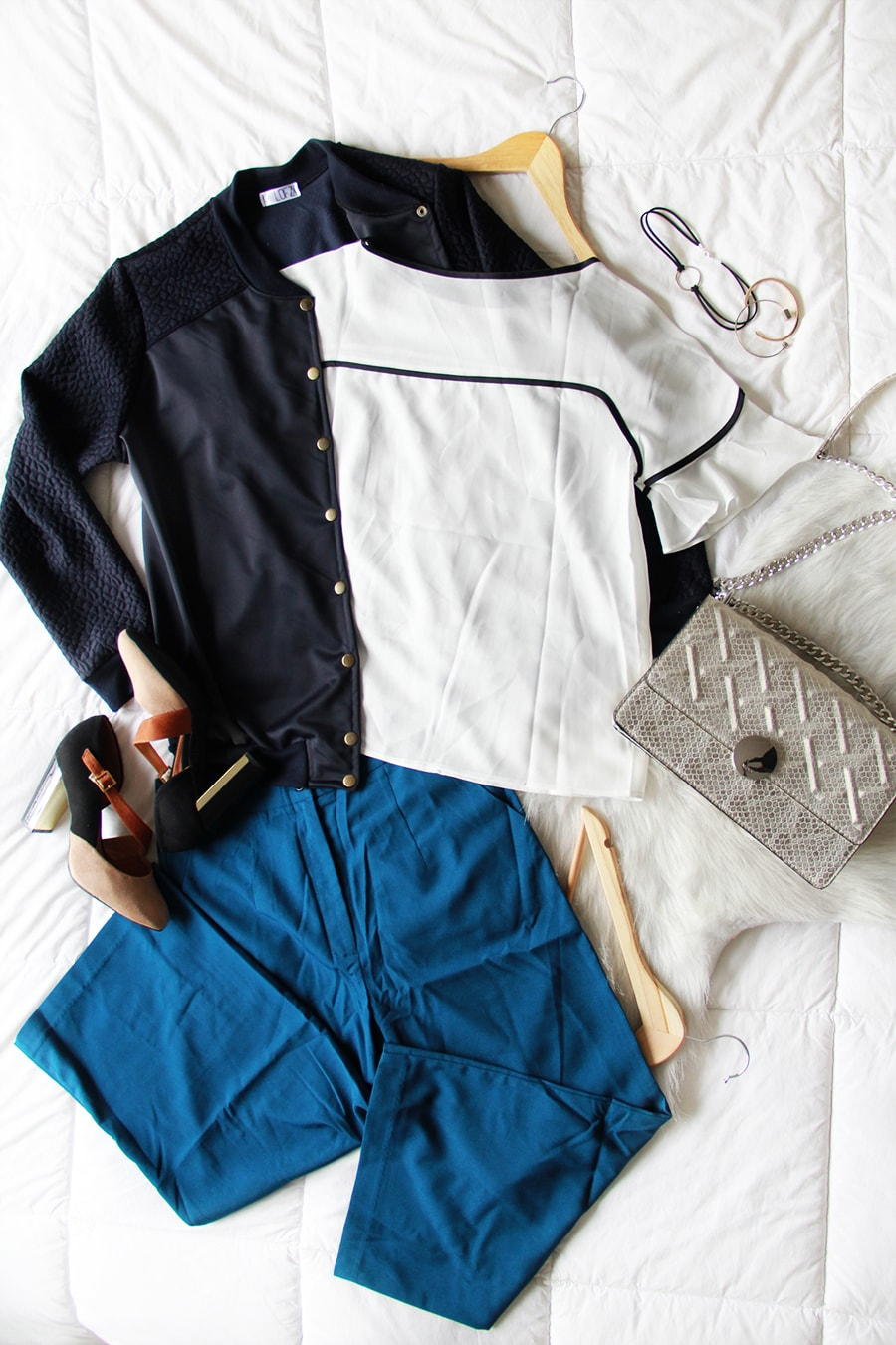 Midseason clothing HAUL - Bomber jacket - Culottes - StyleWe - Reinventing the classics | Golden Strokes