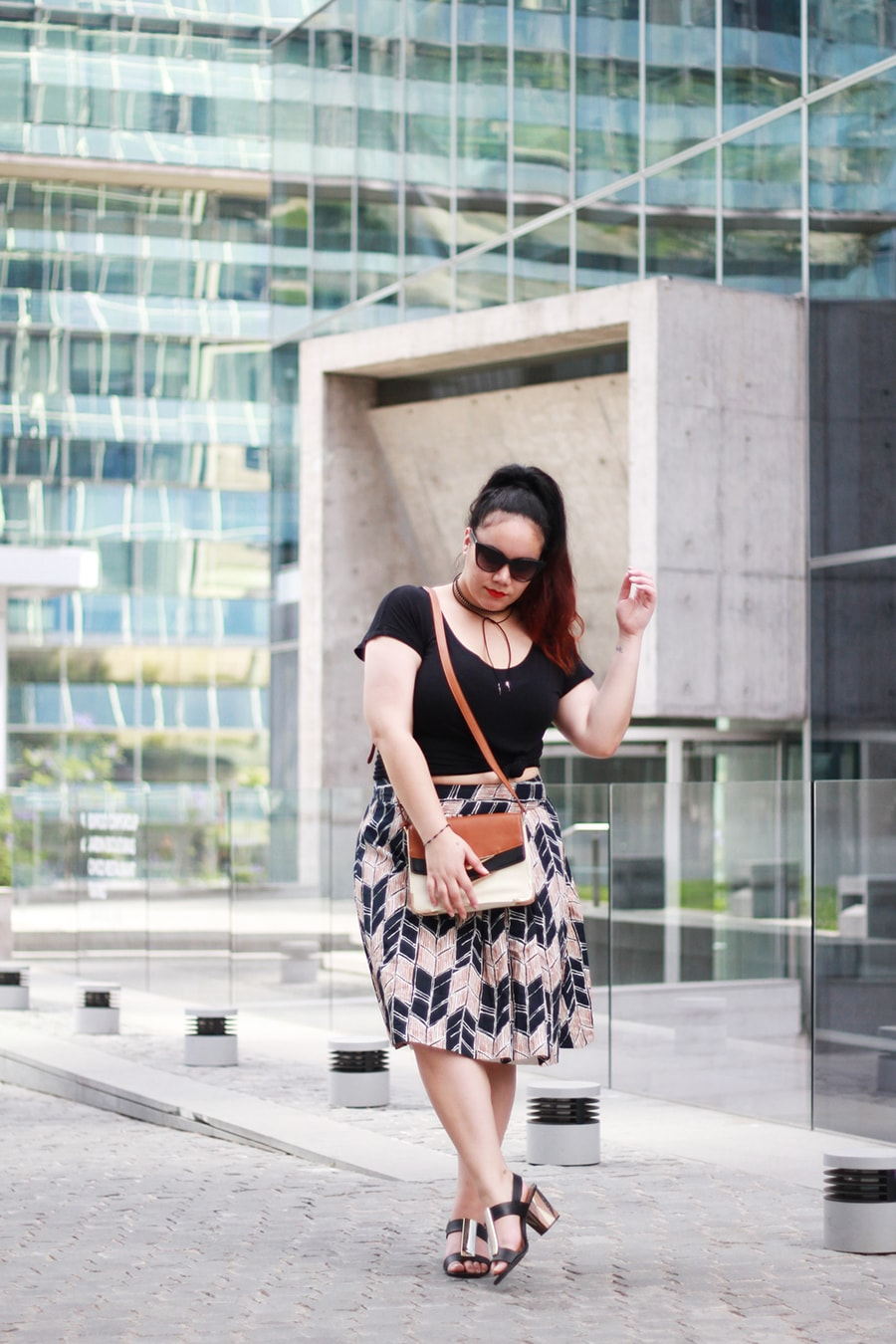 a diy crop top and midi skirt for 30ºc | golden strokes