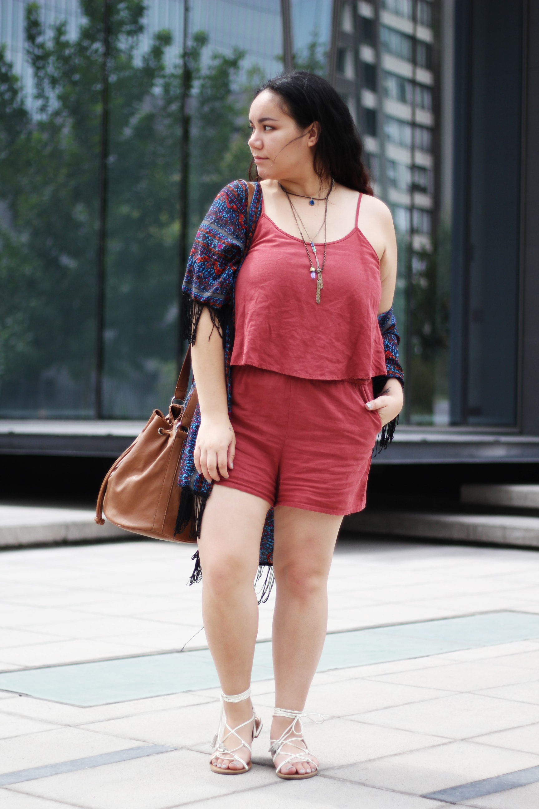Romper plus size outfit ideas - Rompers for big thighs | Golden Strokes