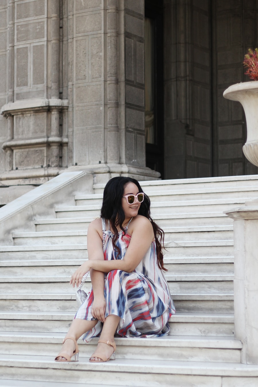 Maxi Dress - Maxidress summer outfit inspiration plus size mexican blogger | Golden Strokes