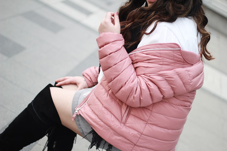 Puffy jacket - how to wear a puffer coat - luisa verdee