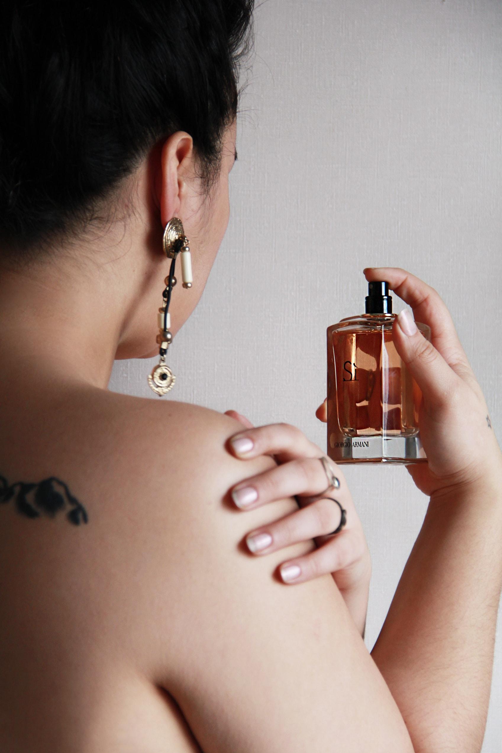 perfume review giorgio armani si - ysl mon paris - michael kors wonderlust