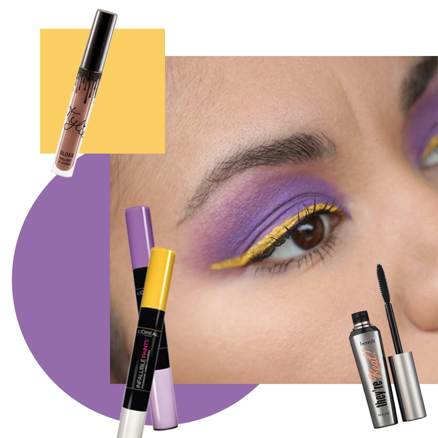 Colorful makeup ideas - Infallible Liquid Eyeshadow Paints loreal - Tendencias de maquillaje - Golden Strokes
