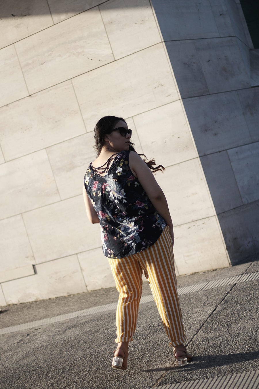 mixing patterns outfit curvy blogger mexico plus size