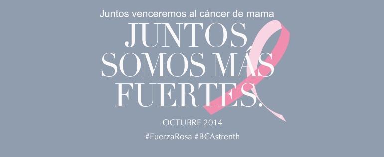 Todos juntos contra el cancer de mama