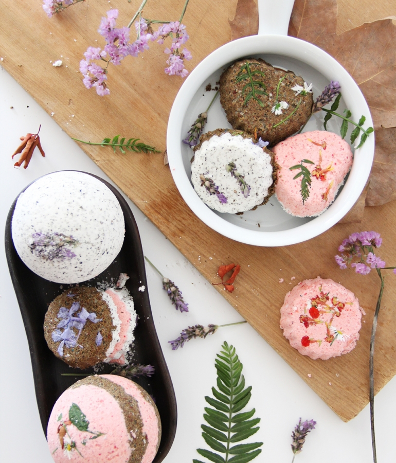 Lush inspired Bath Bombs DIY