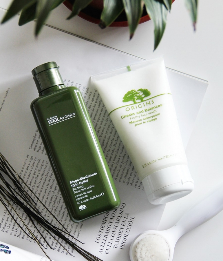 Origins, skin care obsession on repeat