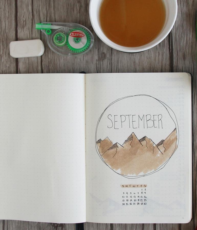 Bullet Journal Setup [Español] | Plan with me – Septiembre 2017