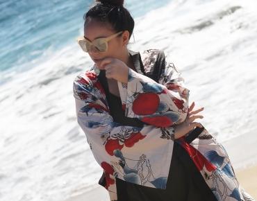 Weekend getaway with a kimono